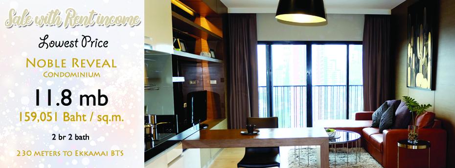 Noble-reveal-condominium-for-sale-Ekkamai-bts-sukhumvit-2bedroom-1519574