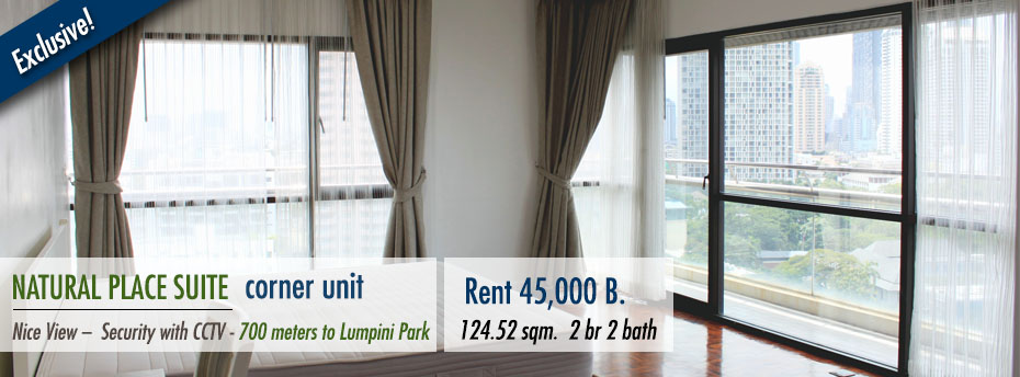natural-place-suite-condominium-apartment-rent-lumpini-park-mrt-saladaeng-bts