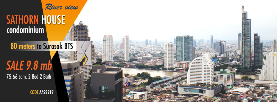 sathorn-house-condominium-sale-sell-buy-river-view-surasak-bts-mrt
